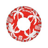 RAVE Sports Aloha Tube Float, Red/White/Grey