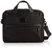 Tumi Alpha 2 Organizer Brief, Black, One Size