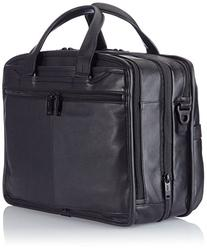 Tumi Alpha 2 Expandable Organizer Laptop Leather Brief,