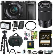 Sony Alpha a6000 24.3MP Mirrorless Lens Digital Camera +
