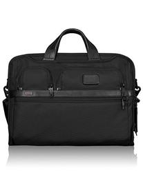 Tumi Alpha 2 Compact Large Screen Laptop Brief, Black, One