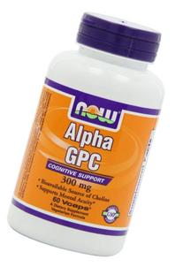 NOW Foods Alpha GPC 300 mg-60 Vegi Caps