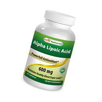 Best Naturals Alpha Liopic Acid 600 mg 120 Capsules - ALA
