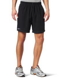 Saucony Men's Alpha Short, Black, X-Large