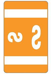 Smead Alpha-Z Color-Coded Second Letter Labels, Letter S,