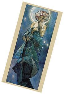 Culturenik Alphonse Mucha Moon Decorative Fine Art Nouveau