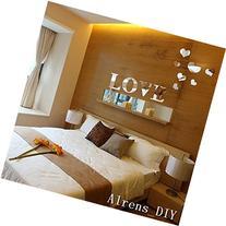 Alrens_DIY 11pcs Love Letter Hearts DIY Patterns TV