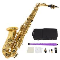 Professional Alto Eb Sax Saxophone Gold with Other
