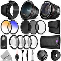 58mm Altura Photo Professional Accessory Kit for Canon EOS