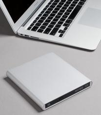 Aluminum External USB DVD+RW,-RW Super Drive for Apple--