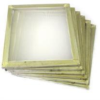 6 Pack Aluminum Silk Screen Printing Press Screens 110 White