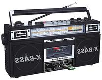 QFX J-22UBK ReRun X Radio and Cassette to MP3 Converter -