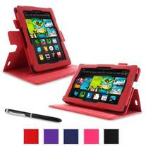 rooCASE Amazon Kindle Fire 7 Case -  Dual View Multi Angle