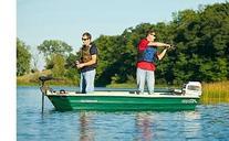 Sun Dolphin American 12 Two Seat 12' Fishing Jon Boat w/