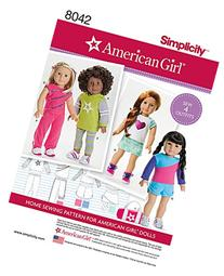 Simplicity Patterns American Girl Doll Clothes for 18 Inch