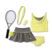 American Girl My AG Tennis Skirt Set + Charm
