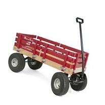 Berlin F410 Amish-Made Sport Wagon, Red