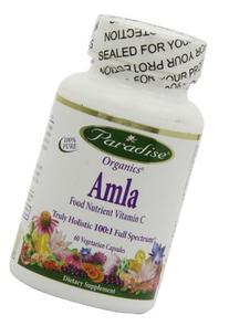 Paradise Herbs Amla 20:1 Rich in Vitamin C Vegetarian