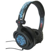 Maxell AMP-B Amplified Heavy Bass Headphone - Blue