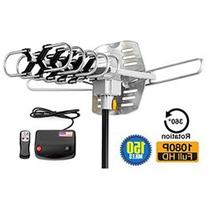 ViewTV Outdoor Amplified Antenna - 150 Miles Range - 360