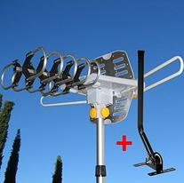 Able Signal Amplified HD Digital Outdoor HDTV Antenna with