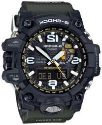 G-Shock Men's Analog-Digital Mudmaster Green Bracelet Watch