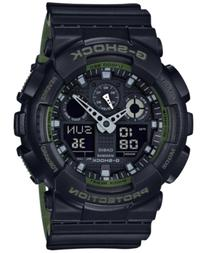 G-Shock Men's Analog-Digital Black Resin Strap Watch 51x55mm
