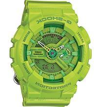 G-Shock Women's Analog-Digital Green Resin Strap Watch