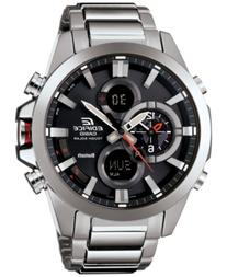 G-Shock Men's Analog-Digital Stainless Steel Bracelet Watch