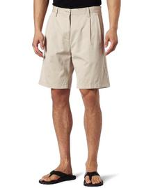 Nautica Men's Anc True Douple Pleat Front Short, True Stone