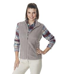 Woolrich Women's Andes Fleece Vest, Canyon, Large
