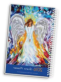 2017 Angel Art Inspirational Christian Planner, Daily Weekly