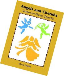 Angels and Cherubs Laser-Cut Plastic Stencils