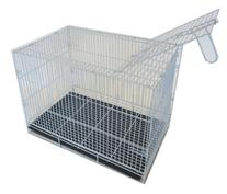 YML 20-Inch Small Animal Crate with Wire Bottom Grate and