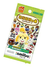 Animal Crossing Card amiibo  5 pack set