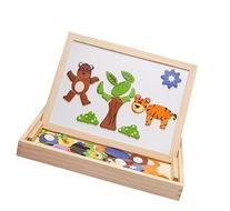 B&S FEEL Animal Magnetic Puzzle, Wooden