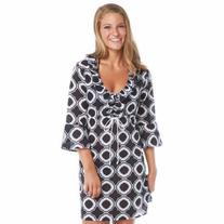 Mud Pie Anna Bell Tunic Black Honeycomb