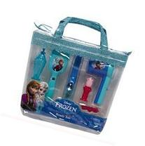 Disney Frozen Anna and Elsa Beauty Tote 7 Pieces