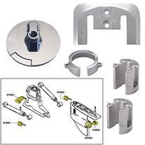 Tecnoseal Anode Kit w/Hardware - Mercury Bravo 1 - Aluminum
