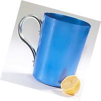 Anodized Aluminum Pitcher Blue