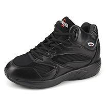 Apis Answer2 552-1 Men's Therapeutic Extra Depth Shoe: Black