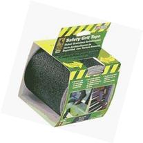 INCOM Manufacturing  Anti-Slip Safety Grit Tape, Black, Self