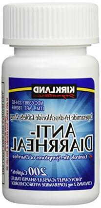 Anti-Diarrheal Loperamide Hydrochloride 2 mg 2,800 Caplets