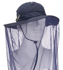 Camo Coll Outdoor Anti-mosquito Mask Hat with Head Net Mesh
