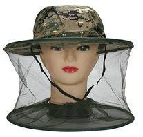 Eforstore Anti-mosquito Mask Hat with Head Veil Net Mesh
