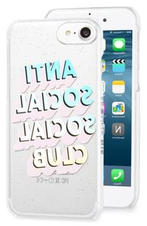 Skinnydip Anti Social Social Club Iphone 7 Case - Pink