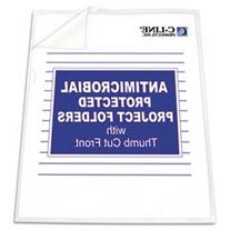 * Antimicrobial Project Folders, Jacket, Letter,