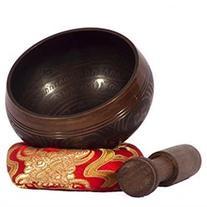 Silent Mind Antique Style Tibetan Singing Bowl Set With