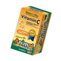 Nature's Plus AP Vitamin C Chewable Tablets, 90 Count