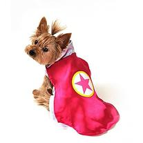 Anit Accessories AP1092-S Superhero Dog Costume, Pink